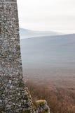 Mur en pierre de fortification photos libres de droits