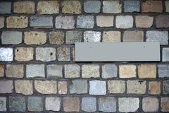 Mur en pierre de granit Photographie stock