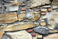 Mur en pierre de mission espagnole Espada Images stock