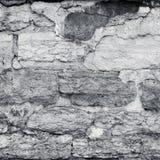 Mur en pierre de plâtre criqué Photographie stock