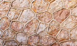 Mur en pierre de rugosité antique Image libre de droits