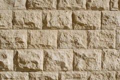 Mur en pierre de sable Photo stock