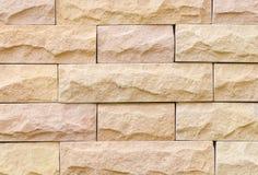 Mur en pierre de sable Images libres de droits