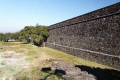 mur en pierre de Sacramento Uruguay de colonia Photos libres de droits