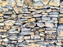Mur en pierre de texture Photographie stock