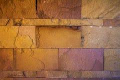 Mur en pierre de texture de sable Photo libre de droits