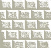 Mur en pierre de vieillissement Image stock