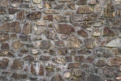 Mur en pierre de vieux ciment de modèle de texture de construction de logements Photo stock