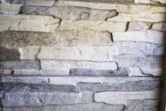 Mur en pierre gris Photographie stock libre de droits