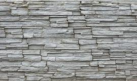 Mur en pierre gris Images stock