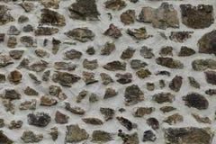 Mur en pierre gris Image libre de droits