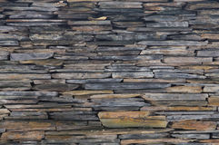 Mur en pierre gris naturel Images libres de droits