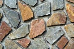 Mur en pierre (horizontal) Images libres de droits