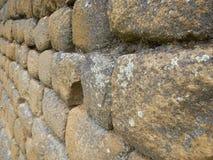 Mur en pierre inca Photos libres de droits