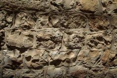 Texture de mur en pierre de clair-obscur Image libre de droits