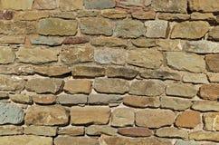 Mur en pierre médiéval Image stock