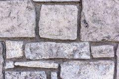 Mur en pierre naturel fait en texture en pierre pour la conception intérieure Photos libres de droits