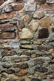 Mur en pierre rugueux image libre de droits