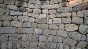 Mur en pierre sauvage banque de vidéos
