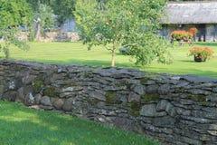 Mur en pierre traditionnel Photos libres de droits