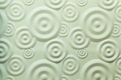 Mur en spirale de blanc d'ondulation Image stock