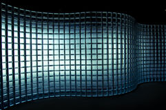 Mur en verre Images libres de droits