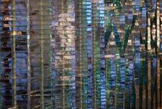 Mur en verre. images stock