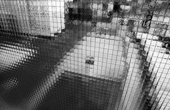 Mur en verre photographie stock libre de droits