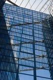 Mur en verre moderne Photographie stock libre de droits