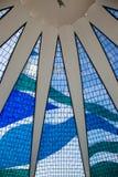 Mur en verre souillé Photographie stock