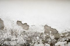 Mur endommagé par humidité image libre de droits