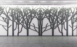 Mur et décoration intérieurs de petit morceau Photo libre de droits