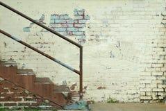 Mur et escaliers Photos libres de droits