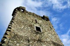 Mur et fenêtre de château Photographie stock libre de droits