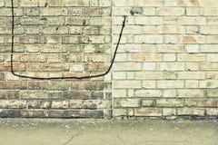 Mur et fil Photographie stock libre de droits