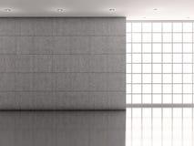 Mur et illustration intérieurs de petit morceau Photo libre de droits