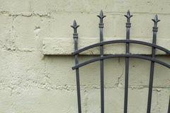 Mur et lances Photo libre de droits