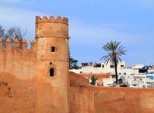 Mur et Médina de ville de Rabat Maroc Image libre de droits