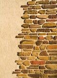 Mur et pierre Photo libre de droits