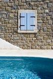 Mur et regroupement de construction Image stock
