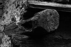 Mur et vieux bois Photographie stock