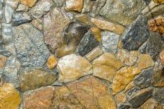 Mur fait à partir de la pierre Images stock