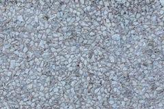 Mur fait de petit blanc et Grey Stones Photographie stock