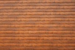 Mur fait de planches en bois Texture en bois de mur images stock