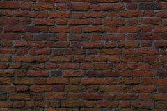 Mur fait en briques rouges, papier peint gentil ou fond images libres de droits