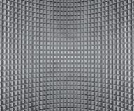 Mur fléchi par gris Photographie stock