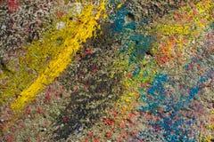 Mur, fond - couleurs abstraites de texture Images libres de droits