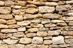 Mur français médiéval Photographie stock libre de droits