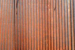 Mur galvanisé de fer images stock
