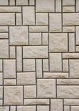 Mur garni des dalles en pierre Photo stock